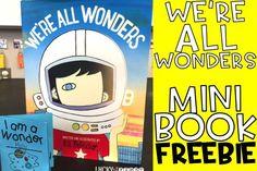 We're All Wonders Mini Book {FREEBIE}