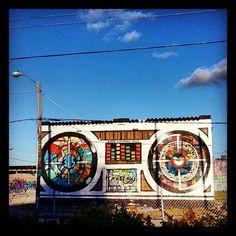 Street art: 305 boombox