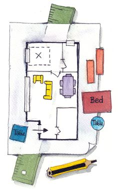 Discover How To Layout Your Space When Downsizing - Bettina Deda Colour Design