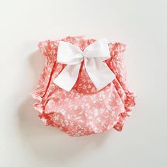 LuckyLu bloomers cotton baby girl outfit panties