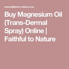 Get quick, natural relief from muscle cramps & spasms with this topical Magnesium Oil spray Topical Magnesium, Magnesium Oil Spray, Organic Bar Soap, Muscle And Nerve, Soap Base, Bath And Body, Faith, Pure Products, Nature