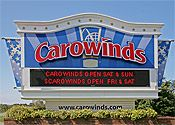 Carowinds - Charlotte, NC, love that its on the border of NC and SC and they have a line through the park to showcase that.