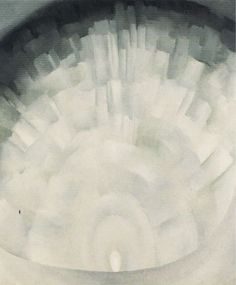 Georgia O'Keeffe. Abstraction -- White Rose III, 1927
