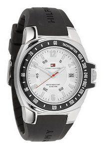 Tommy Hilfiger Men's 1790485 Black Rubber Strap Watch http://amzn.to/117Hy63