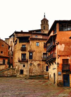 Albarracín. Aragón  Spain Places Around The World, Oh The Places You'll Go, Travel Around The World, Places To Travel, Places To Visit, Around The Worlds, Wonderful Places, Beautiful Places, Earth City
