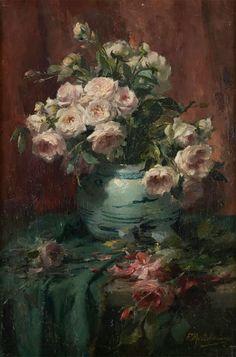 Frans Mortelmans, Painter