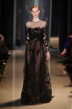 Elie Saab at Couture Spring 2013 - StyleBistro