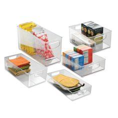 InterDesign® Cabinet Binz™ Storage Bin - www.BedBathandBeyond.com
