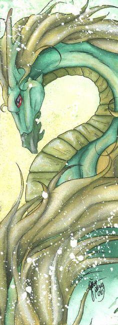 Looks like my dragonhorse! Awesome art! Schatten drache by ~BlutgraefinB on deviantART