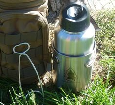 Pathfinder 32oz. Bottle and Cup Combo Kit.    With Maxpedition bottle bag and bottle holder.
