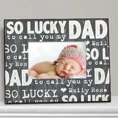 Dad Personalized Picture Frame