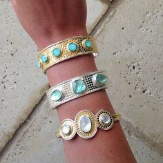 Anna Beck Jewelry Sarah Carolyn Gorgeous Stones What Is Your Favorite Madeinbali Turquoise Greenamethyst Motherofpearl