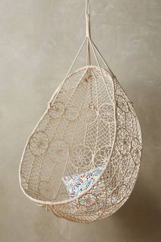 Knotted Melati Hanging Chair #anthrofave #anthropologie