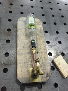 Wodka dispenser old look