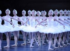 Pictured: The English National Ballet's upcoming production of Swan Lake at the Coliseum, 2011.