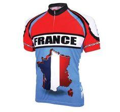 World Jerseys Men s France Cycling Jersey f4fc550a199