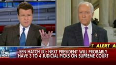 "Neil Cavuto calls out GOP Sen. Orrin Hatch for his part in politicizing the Supreme Court nomination. ""Now, I believe Mr. Garland is a fine nominee,"" a man declares from the Senate floor as Neil Cavuto from Fox ""News"" plays back the video feed. ""I know him personally. I know of his integrity. I know …"