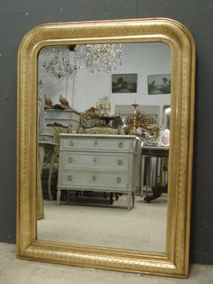 Louis Philippe antique French mirror from www.jasperjacks.com