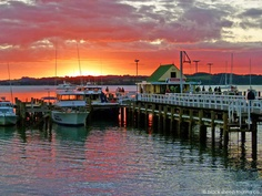 Russell wharf, Bay of Islands