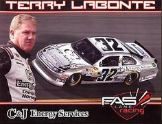 2012 Terry Labonte 32 C J Energy Services NASCAR Postcard | eBay