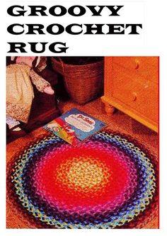 6 Retro Home Decor Ideas Thrifty Decor, Yarn Bombing, Afghan Blanket, Retro Home Decor, Vintage Crafts, Easy Knitting, Vintage Knitting, Boho Decor, 1970s