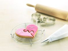 Stampi per biscotti a forma di cuore puzzle