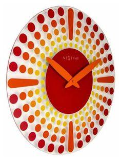 Nextime Wanduhr  8182ro versandkostenfrei, 100 Tage Rückgabe, Tiefpreisgarantie, bei Uhren4You.de bestellen