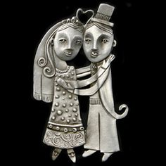 Celebrate their nuptials with the Leandra Drumm Just Married ornament