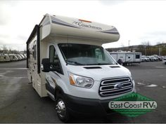New 2017 Coachmen RV Freelander 20CB  Ford Transit Motor Home Class C at East Coast RV Specialists | Bedford, PA | #CM7188