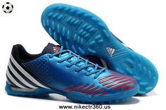 competitive price 677d6 c50bb Cheap Adidas Predator LZ TRX TF Bright Blue-Infrared-Running White For Sale  Astro
