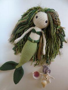 Crochet Mermaid Doll / Amigurumi Mermaid Doll / Amigurumi Doll