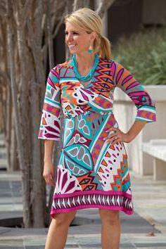 Mindy Cross Front Dress