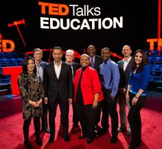 TED Talks Education speakers make playlists for you