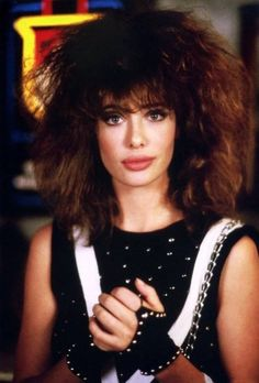 Kelly LeBrock in 'Weird Science' (1985). . what would you Maniacs like to do first.... love this movie and Kelly