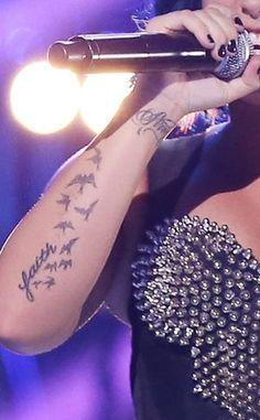 Guess The Celeb Tattoo~Demi Lovato^^