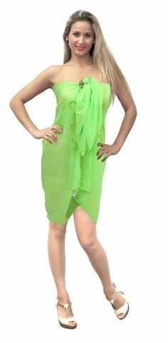 Sarongs, Resort Dresses, Spring Resort, Swim Wear, Detail, Amazon, Beach, Green, Summer