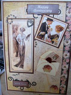 ladies diary anniversary card