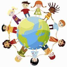 Fotobehang Little Ones - Unity - FotobehangFactory. Little People, Little Ones, Children Holding Hands, Cultural Competence, Kindergarten, Christian Religions, Yoga For Kids, Kids Cards, Clipart