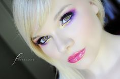 Purple and gold - Fenua Beauté: Galliano L'Artiste