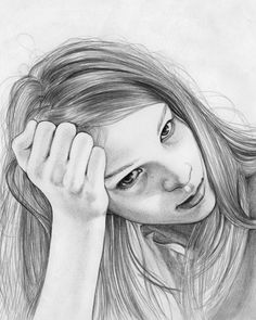 Portrait - Jenny Mörtsell #draw #painting #illustration