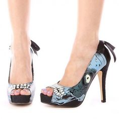 Zombie Glow Platform - Footwear   !--Maybe NEXT YEAR PROM SHOES???