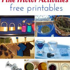Montessori Nature: Montessori Classroom Activities for 3-5 year olds.
