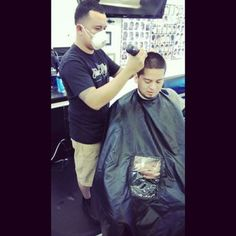 @josebarber23 Client with the iCape! #iCape #barber #barbershop #hairstylist #salon