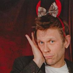 posing at a photo op.So cute! ~ I want to read all day but my mam has different plans.She wants me to *shudders* socialise.Just except the fact that I hate moving and people. Mark Pellegrino, Supernatural, Things I Want, Reading, Day, Instagram Posts, Cute, People, Kawaii