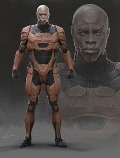 ArtStation - Suit Concept, luis carrasco