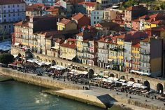 Ribeira district in Porto, a UNESCO World Heritage Site. Portugal