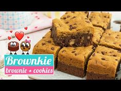 BROWNKIE | La fusión perfecta de Brownie y Cookies | Quiero Cupcakes! - YouTube