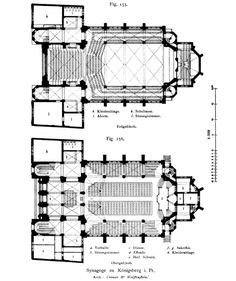 Dura Europos Synagogue floor plan: This is a plan showing