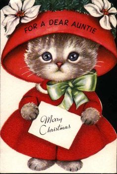 How to Get into the Christmas Spirit | Vintage christmas images ...