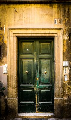 """Rome Door Series (5 of 5)"" by rAMSoROSCO on Flickr - This photo was taken in Italy."